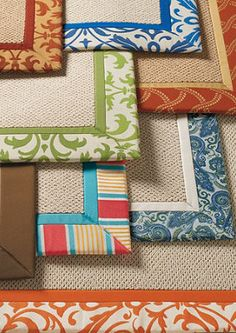 Add comfort & color to your patio with an outdoor area rug!