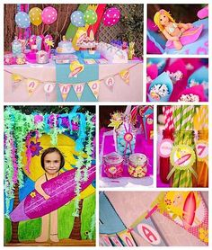 Girls  Birthday Party Ideas | This adorable SURFER GIRL SEVENTH BIRTHDAY PARTY was submitted by ...