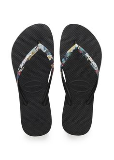 Havaianas Slim Tropical Straps Sandal Black  Price From: 37,90$CA  https://flopstore.ca/ca_french/new-arrivals/havaianas-slim-tropical-straps-sandal-black.html
