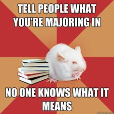 Science Major Mouse: Science Major Mouse - What's That Major?