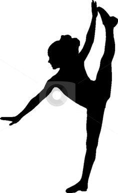 dance silhouettes | Silhouette sport dance Vector Illustration - Download silhouette ...