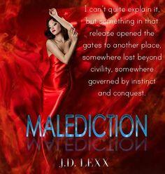 TEASER: MALEDICTION (Crimson Confessions #1) by J.D. LEXX | Kindle Friends Forever