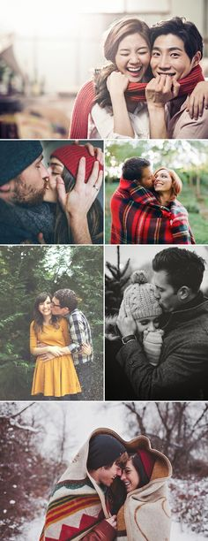 40 Cute Christmas Photo Ideas for Couples to Show Love!