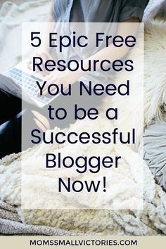 Struggling to grow your blog's income or traffic? Check out these 5 Epic FREE Resources You Need to be a Successful Blogger NOW! Why wait to achieve the dream life you want? These tools can help you on your way to turn your blogging passion into profit.