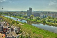 view over Mannheim HDR