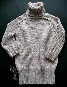 Turtle Neck, Knitting, Sweaters, Fashion, Moda, Tricot, Fashion Styles, Breien, Pullover