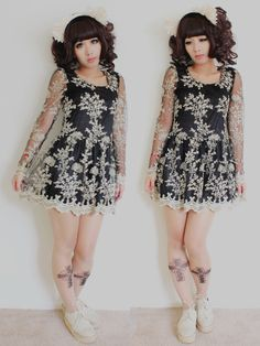 Dolldelightful :: Filipina Gothic Lolita Designer...I'm envious/inspired...
