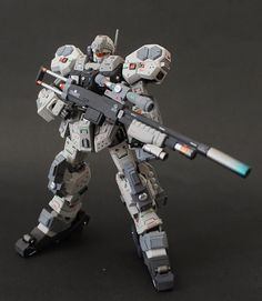 GUNDAM GUY: GUNDAM GUY: READERS FEATURE GUNPLA BUILD - HG 1/144 Super Jesta Custom by Titan Dani
