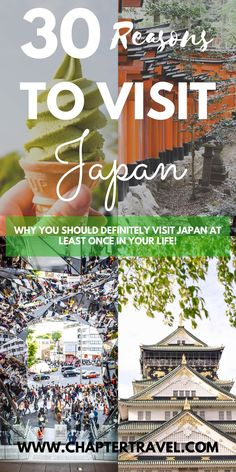 Are you still not sure why you should visit Japan at least once in your life? In this post you can find 30 reasons to visit Japan! It's one of our favourite destinations in Asia. Probably because it has the perfect mix of culture, history and modern comfort. And lets not forget the amazing food they have! Japan is a unique country, and even though you might have an image of how it will be, this beautiful country will definitely still surprise you!
