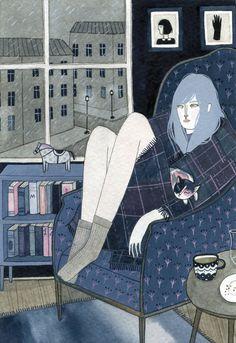 Yelena Bryksenkova. Outstanding illustrations by... - Supersonic Electronic Art