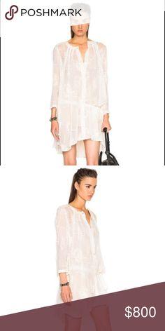 Ann Demeulemeester Khan Dress in Off White Never Worn Cream Ann Demeulemeester Khan Dress in Off White/Ecru | Ann Demeulemeester Dresses Mini