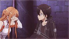 Sword art online - Kirito and Asuna gif