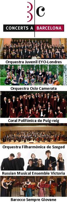 15a Temporada Concerts a Barcelona (agost 2013 - maig 2014)