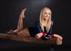 My friend Kevin Jairaj, showing us how to photograph Olympians properly... May 14, 2012; Dallas, TX, USA;  Team USA women's gymnast Nastia Liukin during a portrait session at the 2012 Team USA Media Summit at the Hilton Anatole. Mandatory Credit: Kevin Jairaj-US PRESSWIRE