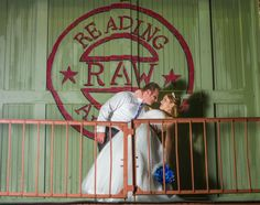Many couples pose on this balcony but this is a creative pose!