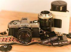 Vintage Minolta X370 SLR Camera Outfit by LavenderBouquetPhoto, $93.00