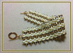 Beading pattern instructions, beading tutorials and patterns, beaded bracelet patterns, superduo bead patterns, DIY jewelry & beading, PDF de BeadingDay en Etsy https://www.etsy.com/es/listing/292958037/beading-pattern-instructions-beading