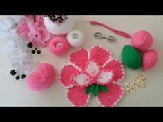 Domain Default page Crochet Doilies, Crochet Flowers, Woolen Craft, Gerbera, Cute Diys, Crochet Videos, Loom Knitting, Pin Cushions, Diy And Crafts