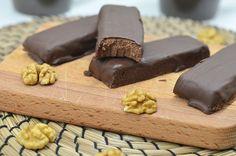 Nepečené kakaovo-orechové rezy   Zdravé recepty   Zdravé recepty na chudnutie   Zdravé dobroty