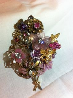 "Items similar to Lady Rankin's Designed ""Pink Beauty"" Brooch on Etsy Vintage Jewelry, Unique Jewelry, Brooches, Trending Outfits, My Etsy Shop, Jewelry Design, Handmade Gifts, Lady, Awesome"