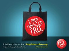 Why We Should Be Tobacco-Free #ShopTobaccoFree ~ Campaign for Tobacco Free Kids