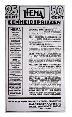 Un des premiers catalogues HEMA