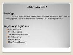 six pillars of self esteem pdf