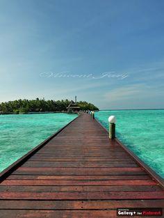 Route Isle Maldive