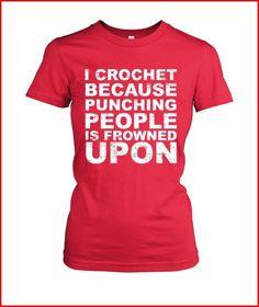 I crochet because ...