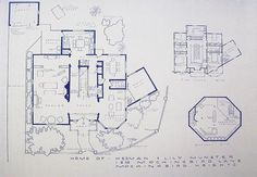 House From The Munsters TV Show Blueprint by BlueprintPlace