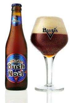 Information about Bush de Noël (Scaldis Noël), a benchmark, strong seasonal beer, at ABV, brewed by Brasserie Dubuisson. Malt Beer, Beer Bar, Beer Shop, Beers Of The World, Belgian Beer, Beer Brands, Beer Packaging, Brew Pub, Beer Label