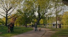 Ted (2012) - John and Ted have a walk at Boston Public Garden.