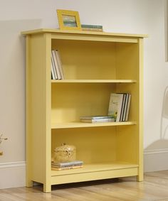 Bring the subtle and simple design of this bookcase into any home to add an elegant touch to décor. Store a little one's favorite picture books or classic novels in a convenient and charming way that guests will love.