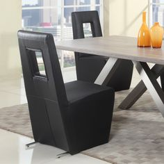 Chintaly Chasity Dining Chair - Set of 2 | from hayneedle.com