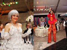 Throwback to the 2011 NACE Wedding Trendsevent, where J&D Entertainment provided a strolling living table and stilt character! www.jdentertain.com