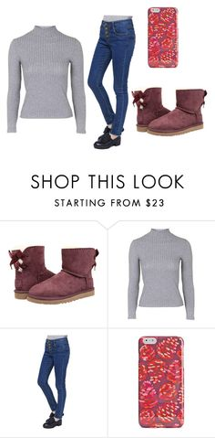 """"""""""" by libbyrose15 on Polyvore featuring UGG Australia, Topshop and Vera Bradley"""
