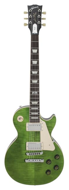 Gibson Les Paul Peace Mellow Out Green