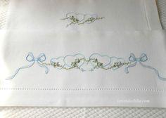 disegno per lenzuolino di Lavandaelilla su Etsy