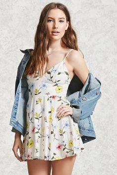 Floral Mini Cami Dress