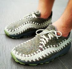 Nike Footscape Woven Harrison Tweed - Deadmar5h Retro Sneakers, Shoes Sneakers, Nike Looks, Chukka Sneakers, Mode Style, Me Too Shoes, Casual Shoes, Trainers, Tennis