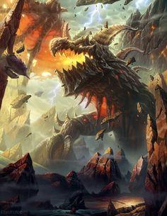 Dragon de las montañas