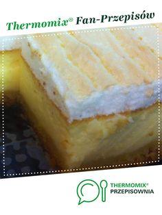 Sernik z rosą - lekki jak chmurka jest to przepis stworzony przez użytkownika ania3330607. Ten przepis na Thermomix<sup>®</sup> znajdziesz w kategorii Słodkie wypieki na www.przepisownia.pl, społeczności Thermomix<sup>®</sup>. Cheesecake, Food, Thermomix, Kuchen, Cheesecakes, Essen, Meals, Yemek, Cherry Cheesecake Shooters