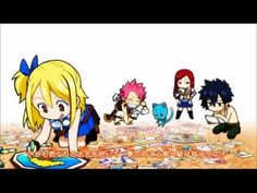 Fairy Tail Ending 10 - Boys Be Ambitious ( Pitched )