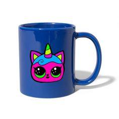 Geschenke Shop   Einhorn Katze - Tasse einfarbig Shirt Diy, Mugs, Tableware, Tea Cups, Cat Art, Coffee Cups, Unicorn, Tumblers, Dinnerware