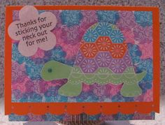 I just listed Thanks For Sticking Your Neck Out For Me Turtle A2 Greeting Card on The CraftStar @TheCraftStar #uniquegifts