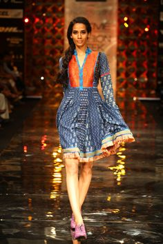 Lakme Fashion Week Winter '12 - Priyadarshini Rao showcased her urban chic collection on Day 2. The show was opened by Avantika Akerkar known for her work in 'Vagina Monologue' ...