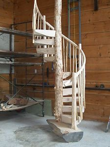 LOG Spiral Staircase Stairway