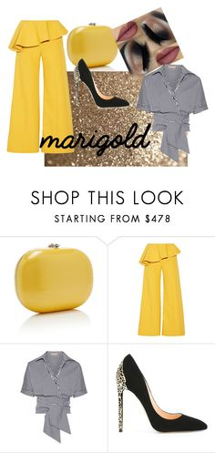 """""""Marigold contest entry 3"""" by bryannaurton on Polyvore featuring Rosie Assoulin, Michael Kors, Cerasella Milano, contest and marigold Marigold, Michael Kors, Polyvore, Stuff To Buy, Shopping, Collection, Design, Women, Fashion"""