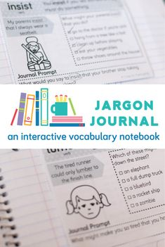 """Acquiring vocabulary with a """"weekly words"""" program that uses kids books and an interactive vocabulary notebook."""