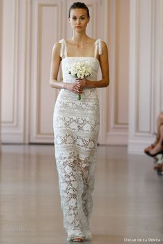 Oscar de la Renta Bridal Spring 2016 Wedding Dresses | Wedding Inspirasi